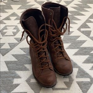 Timberland Mid Stoddard Lace Up Boot